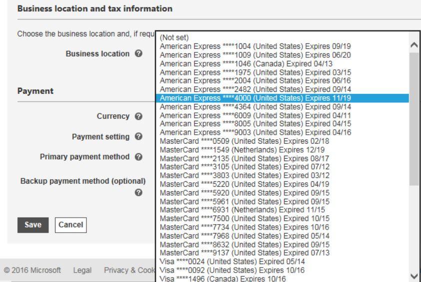 Bing Ads billing problem