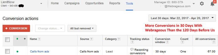 AdWords Client Success Stories