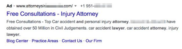 The Fundamentals of Pay-per-Click Ad Copy for Lawyers